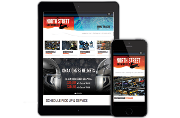 Responsive Web Site Design & Development North Street Snowmobile