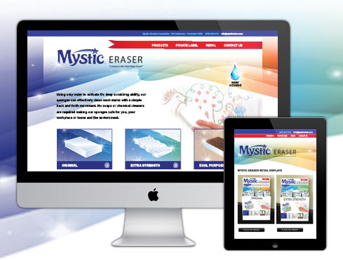 Web Site Design & Development | Mystic Clean Eraser
