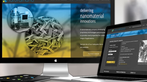 Web Site Design & Development | NaturalNano