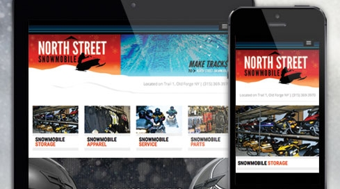 Web Site Design & Development | North Street Snowmobile