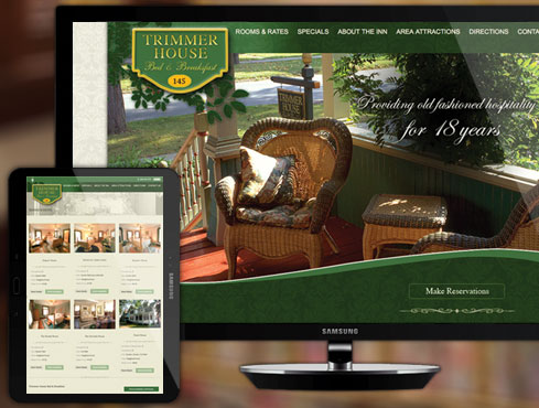 Web Site Design & Development | Trimmer House B&B